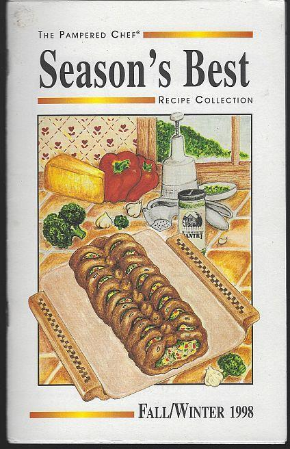 SEASON'S BEST RECIPE COLLECTION FALL/WINTER 1998, Pampered Chef