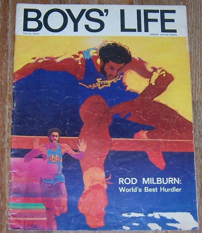 BOYS' LIFE MAGAZINE AUGUST 1972, Boy Scouts Of America
