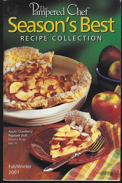 SEASON'S BEST RECIPE COLLECTION FALL/WINTER 2001, Pampered Chef