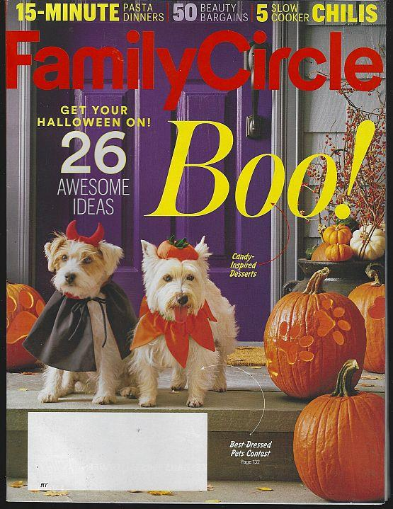 FAMILY CIRCLE MAGAZINE OCTOBER 2016, Family Circle