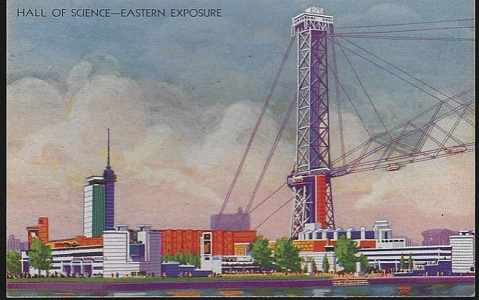 HALL OF SCIENCE, EASTERN EXPOSURE, A CENTURY OF PROGRESS, INTERNATIONAL EXPOSITION 1933, CHICAGO, ILLINOIS, Postcard
