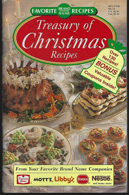 TREASURY OF CHRISTMAS RECIPES, Favorite Brand Name
