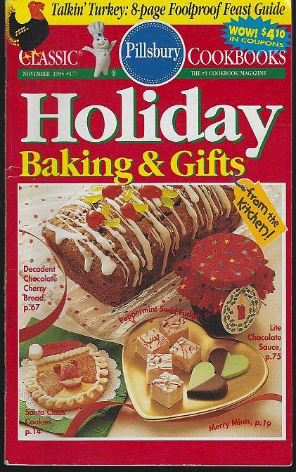 HOLIDAY BAKING AND GIFTS FROM THE KITCHEN November 1995, Pillsbury
