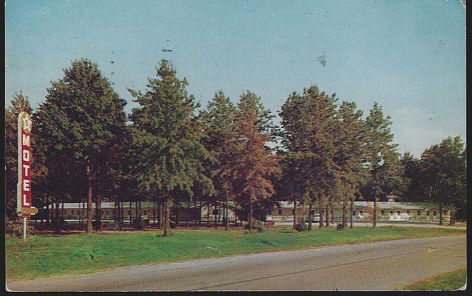 FIVE STAR MOTEL, GREENUP, ILLINOIS, Postcard