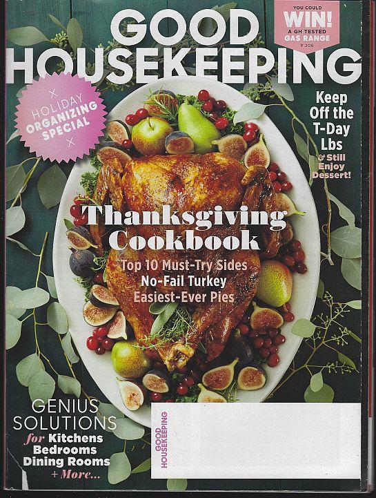GOOD HOUSEKEEPING MAGAZINE NOVEMBER 2016, Good Housekeeping
