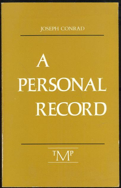 Image for PERSONAL RECORD