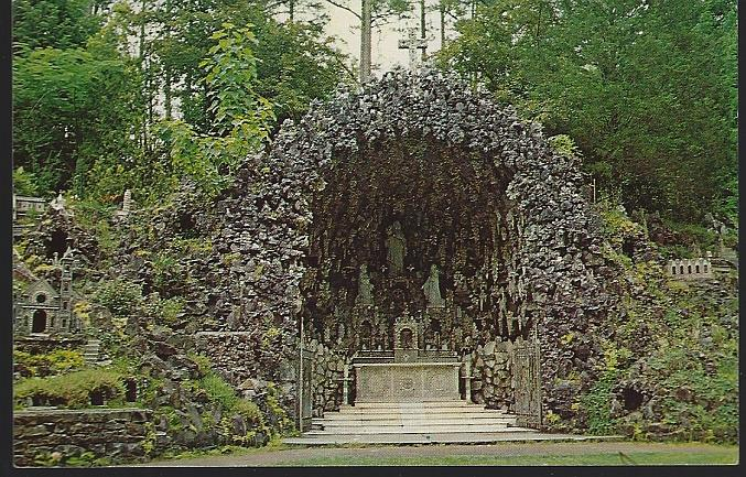 MAIN GROTTO, AVE MARIA GROTTO, CULLMAN, ALABAMA, Postcard