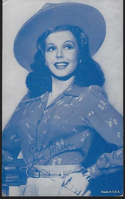 ARCADE CARD OF ANN MILLER, Arcade Card