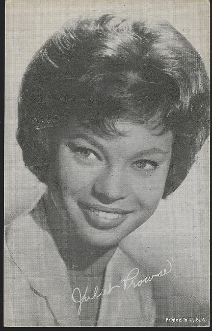 ARCADE CARD OF JULIET PROWSE, Arcade Card