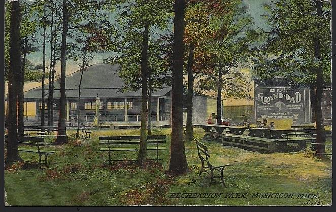 RECREATION PARK, MUSKEGON, MICHIGAN, Postcard