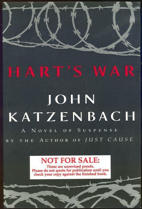 HART'S WAR, Katzenbach, John