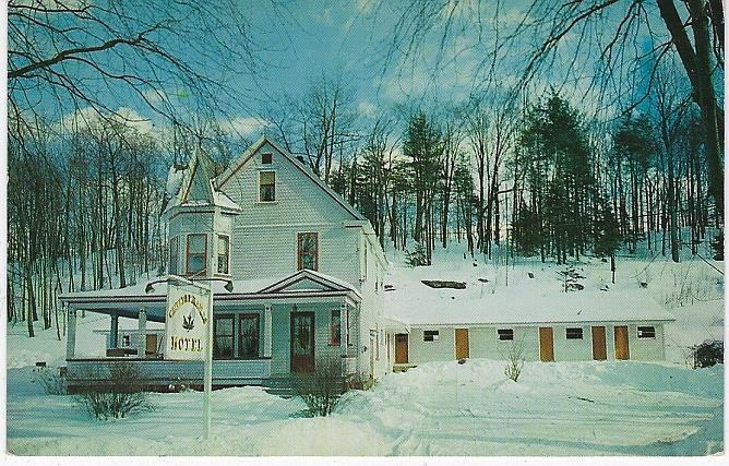 CUT LEAF MAPLES MODERN MOTEL AND GUEST HOUSE, ARLINGTON, VERMONT, Postcard