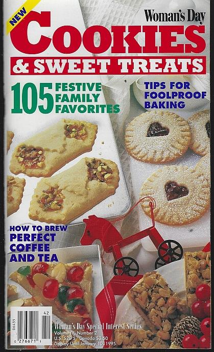 Image for WOMAN'S DAY COOKIES AND SWEET TREATS