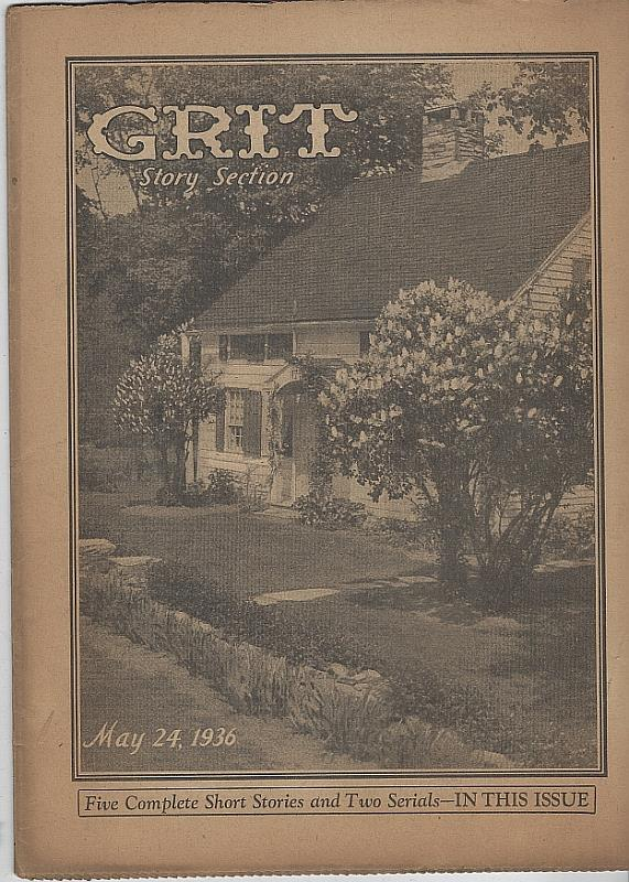 GRIT STORY SECTION MAY 24, 1936, Grit