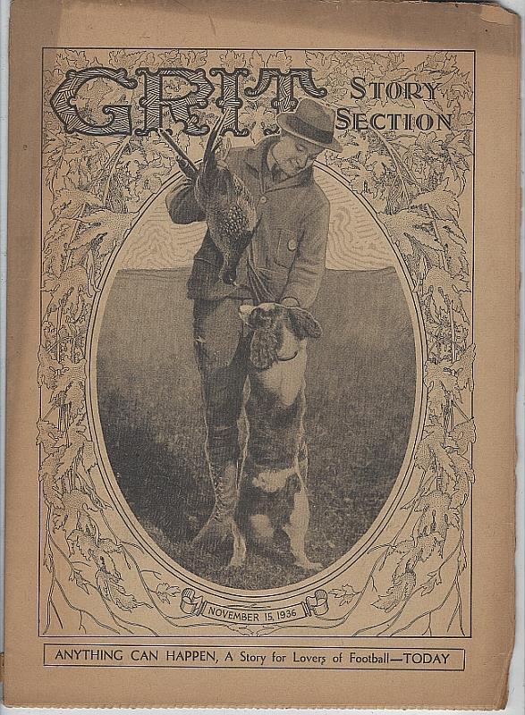 GRIT STORY SECTION NOVEMBER 15, 1936, Grit