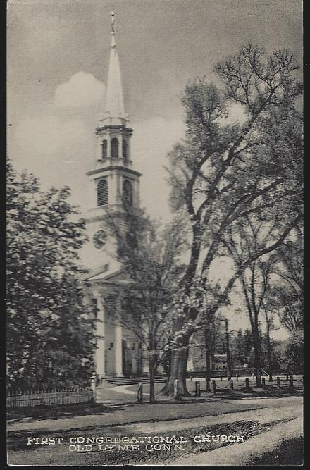 Image for FIRST CONGREGATIONAL CHURCH, OLD LYME, CONNECTICUT