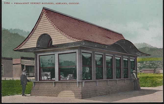 PERMANENT EXHIBIT BUILDING, ASHLAND, OREGON, Postcard