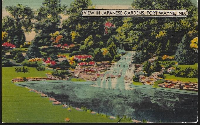 Image for JAPANESE GARDENS, FORT WAYNE, INDIANA