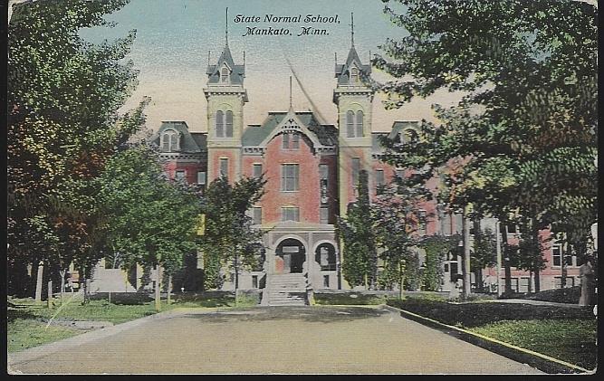 Image for STATE NORMAL SCHOOL, MANKATO, MINNESOTA
