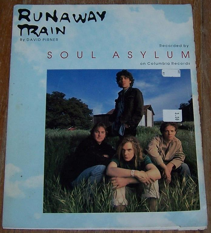 RUNAWAY TRAIN, Sheet Music