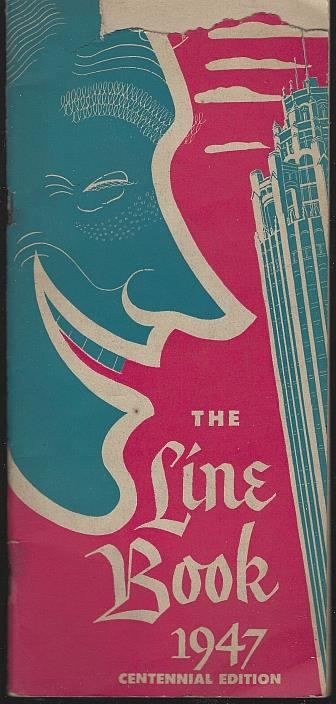 LINE BOOK 1947 Centennial Edition, Collins, Charles editor