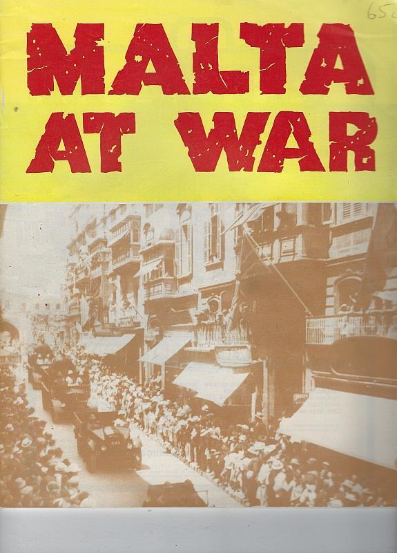 MALTA AT WAR, Mifsud, Richard