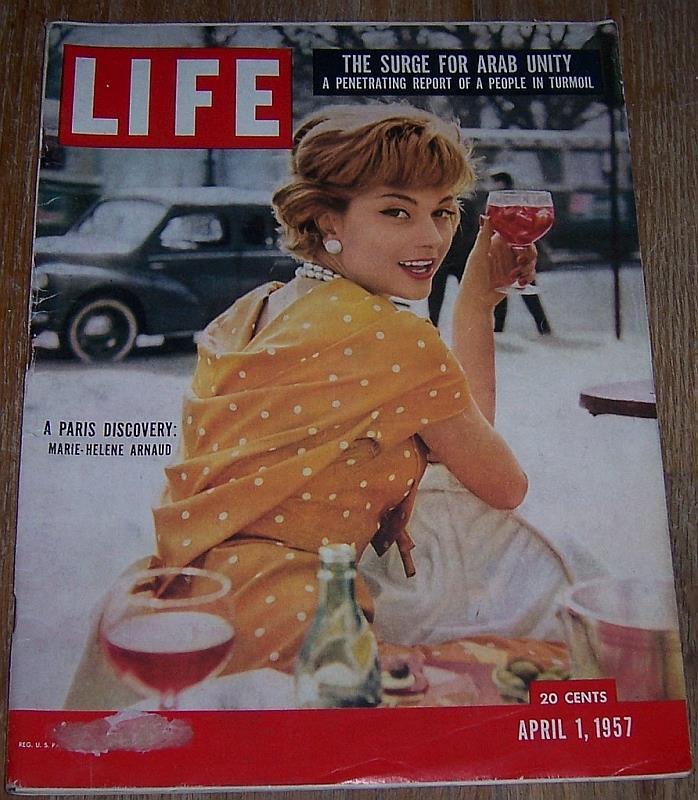 LIFE MAGAZINE APRIL 1, 1957, Life Magazine