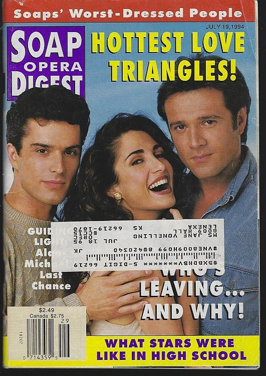 SOAP OPERA DIGEST JULY 19, 1994, Soap Opera Digest