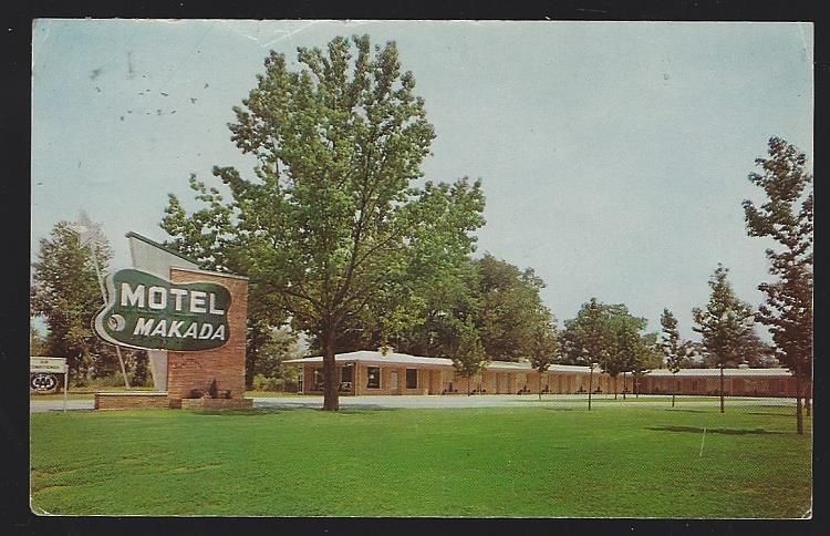MOTEL MAKADA, HUNTSVILLE, ALABAMA, Postcard