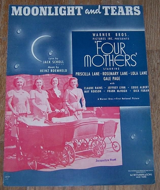 MOONLIGHT AND TEARS, Sheet Music