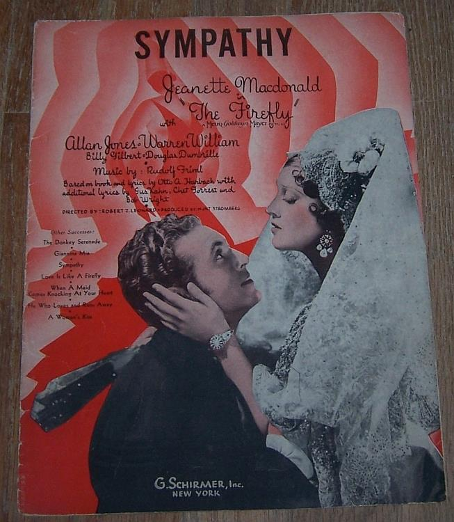 SYMPATHY, Sheet Music