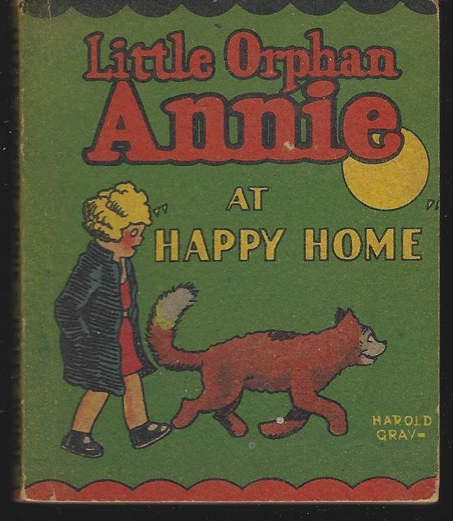 Image for LITTLE ORPHAN ANNIE AT HAPPY HOME