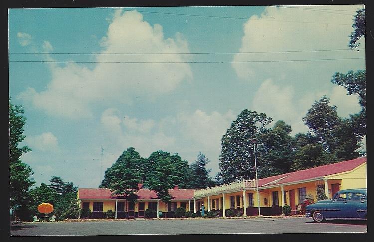 ASHEVILLE COURT, ASHEVILLE, NORTH CAROLINA, Postcard