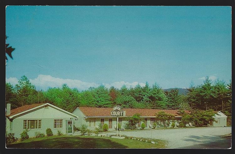 AMBER COURT, ASHEVILLE, NORTH CAROLINA, Postcard