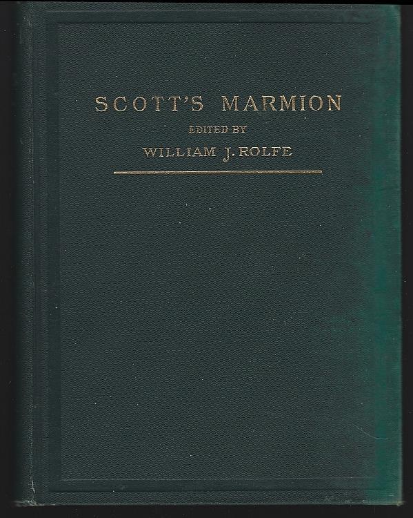 MARMION, Scott, Sir Walter