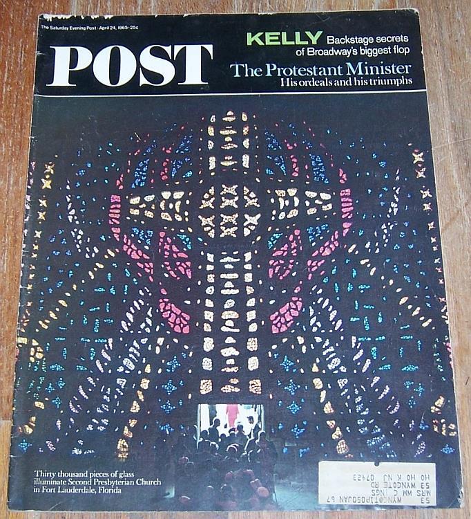SATURDAY EVENING POST MAGAZINE APRIL 24, 1965, Saturday Evening Post