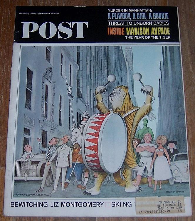 SATURDAY EVENING POST MAGAZINE MARCH 13, 1965, Saturday Evening Post