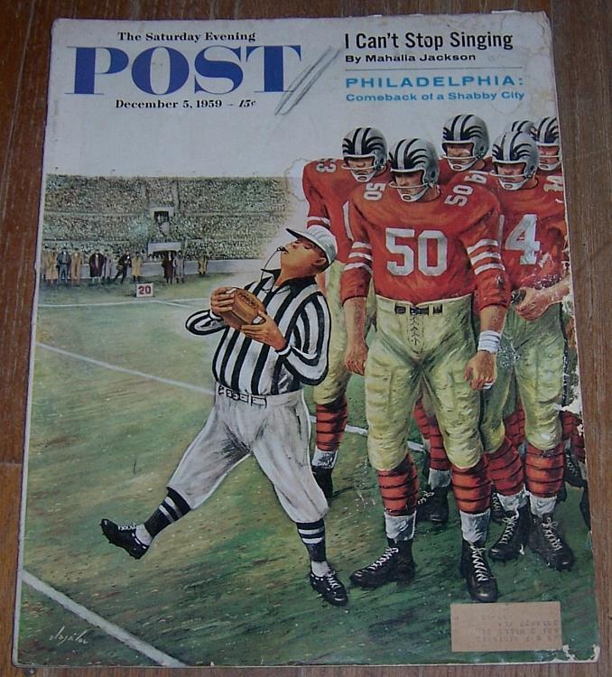 SATURDAY EVENING POST MAGAZINE DECEMBER 5, 1959, Saturday Evening Post