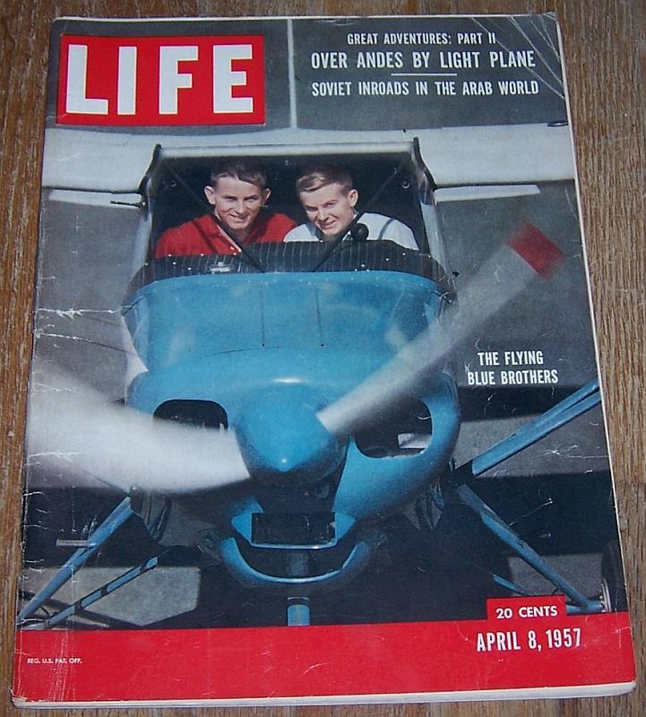 LIFE MAGAZINE APRIL 8, 1957, Life Magazine