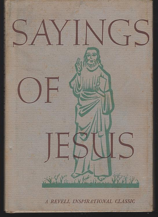 Image for SAYINGS OF JESUS