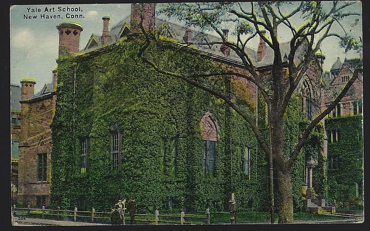 YALE ART SCHOOL, NEW HAVEN, CONNECTICUT, Postcard