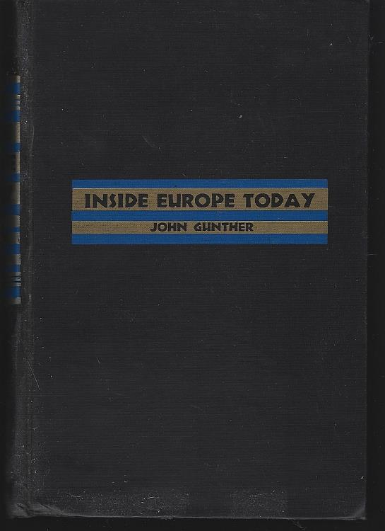 INSIDE EUROPE TODAY, Gunther, John