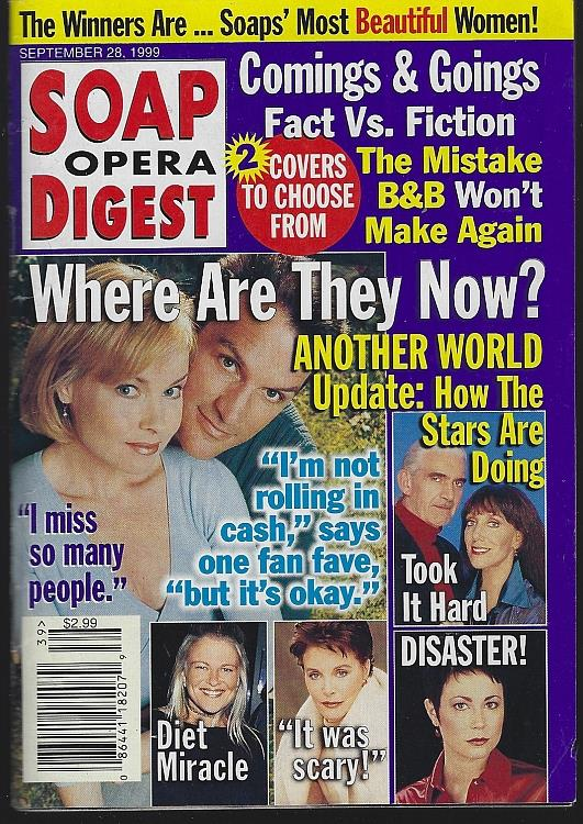 SOAP OPERA DIGEST FEBRUARY 28, 1999, Soap Opera Digest