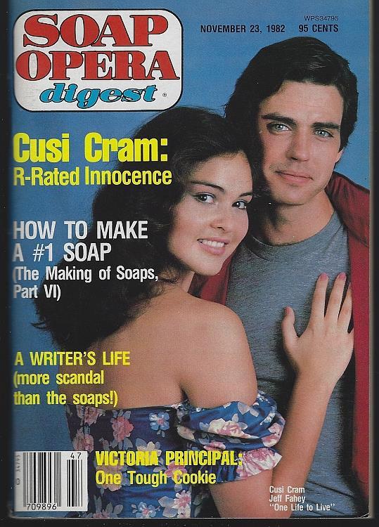 SOAP OPERA DIGEST NOVEMBER 23, 1982, Soap Opera Digest
