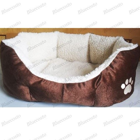 New Softie Warm Indoor Pet Puppy Dog Cat Soft Bed House Home Family Chihuahua