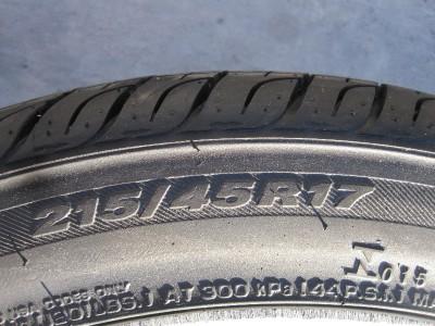 "BMW ""Mini Cooper"" 7 Spoke Bronze Wheels Set 4 w Almost New Tires"