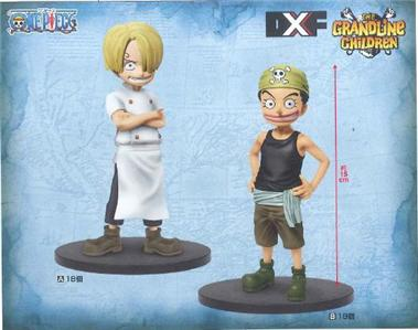 Banpresto One Piece DXF The Grandline Children Vol 6 Sanji+Ussop Set of 2 Figure