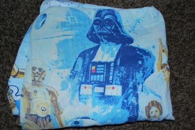 Complete Set Of Vintage Star Wars Twin Bedding 1977