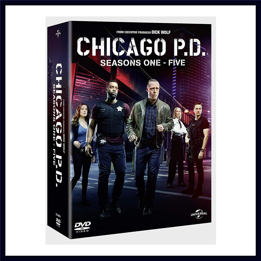 CHICAGO PD COMPLETE SEASONS 1 2 3 4 & 5 ** BRAND NEW DVD