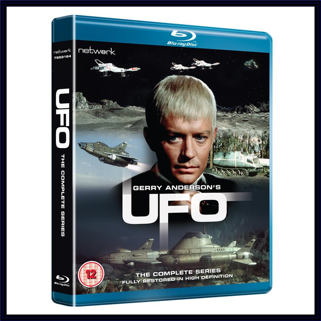Details about UFO - THE COMPLETE SERIES - FULLY RESTORED **BRAND NEW  BLURAY**